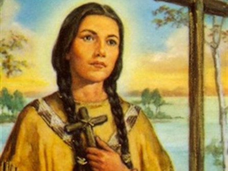 June 22 The First Native North American Saint