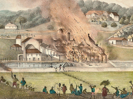 May 23 The Baptist Slave rebellion in Jamaica