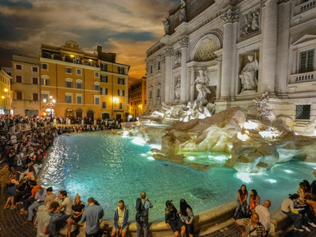 May 22 Papal Rome and the Trevi Fountain