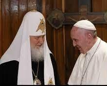 Feb 12 - Pope and Patriach meet in Cuba