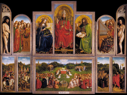 May 6 The Ghent Altarpiece - the most stolen work of art