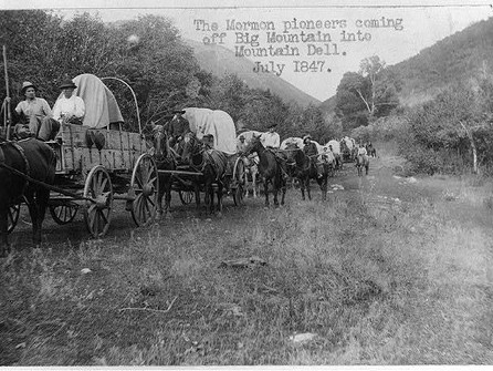 Feb 4 - Mormons journey to Utah