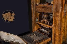 Feb 3 - Guttenberg's Printing Press
