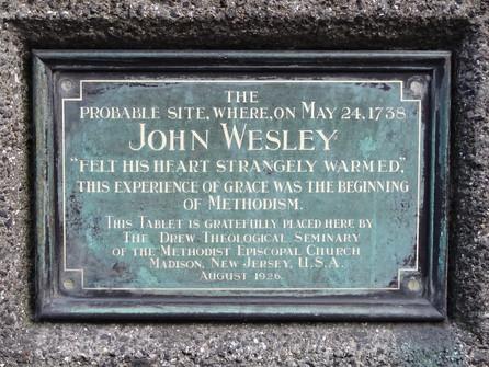 May 24 John Wesley's Conversion