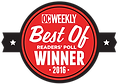 Surf Dog's OC Weekly Award