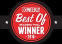 Surf Dog's OC Weekly Award