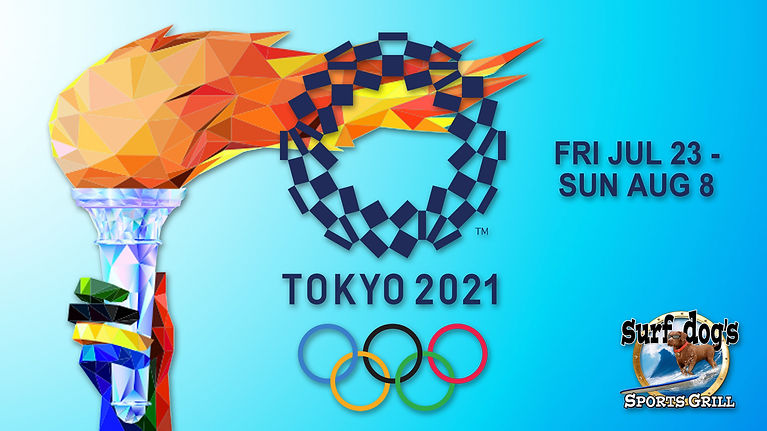 Olympics 2021 at Surf Dog's Sports Grill