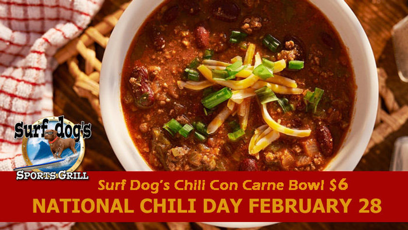National Chili Day at Surf Dog's Sports