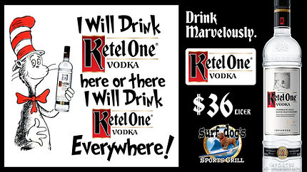 Ketel One Special at Surf Dog's Sports Grill