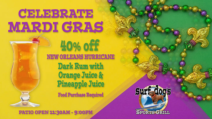 Hurricanes at Surf Dog's Sports Grill
