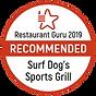 Restaurant Guru recommends Surf Dog's