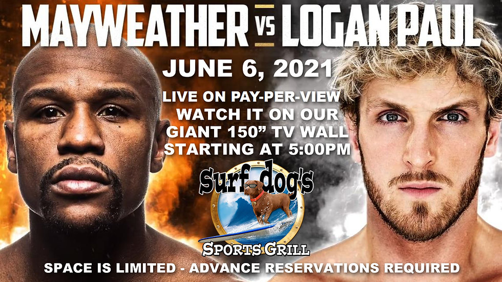 MAYWEATHER PAUL at Surf Dog's Sports Gri
