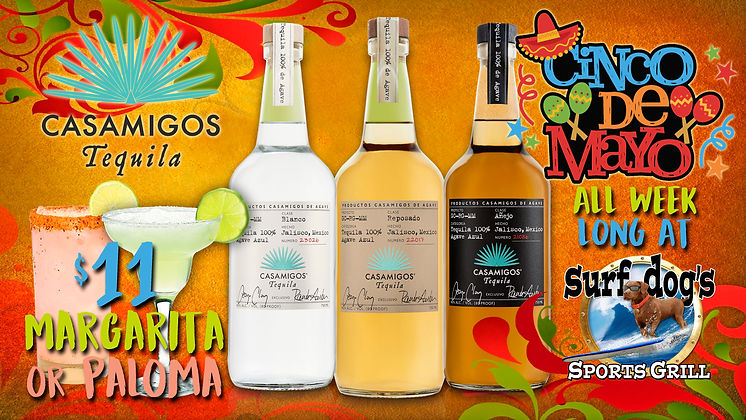 Cinco de Mayo at Surf Dog's Sports Grill