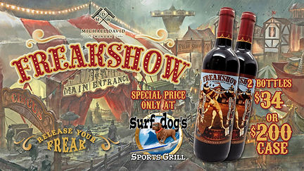 Freakshow at Surf Dog's Sports Grill