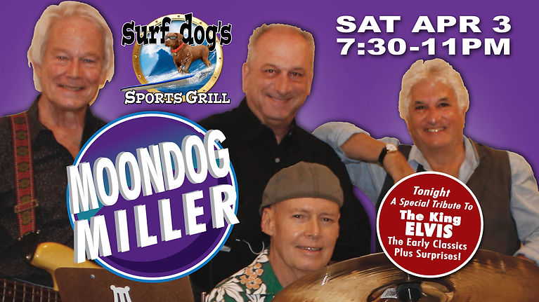 Moondog Miller at Surf Dog's Sports Gril