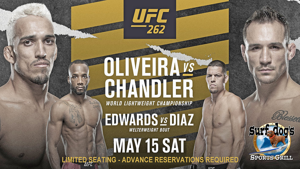 UFC 262 at Surf Dog's Sports Grill