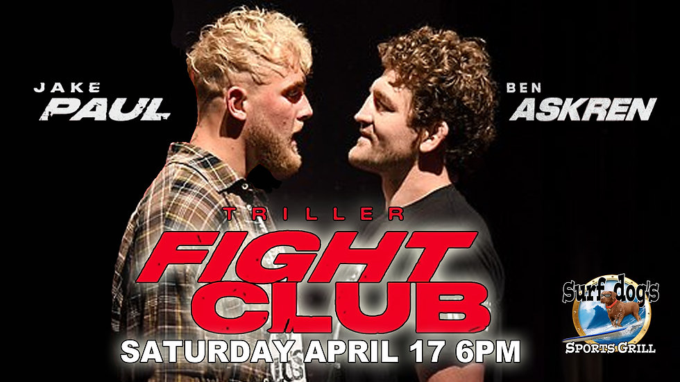 PAUL vs ASKREN at Surf Dog's Sports Gril