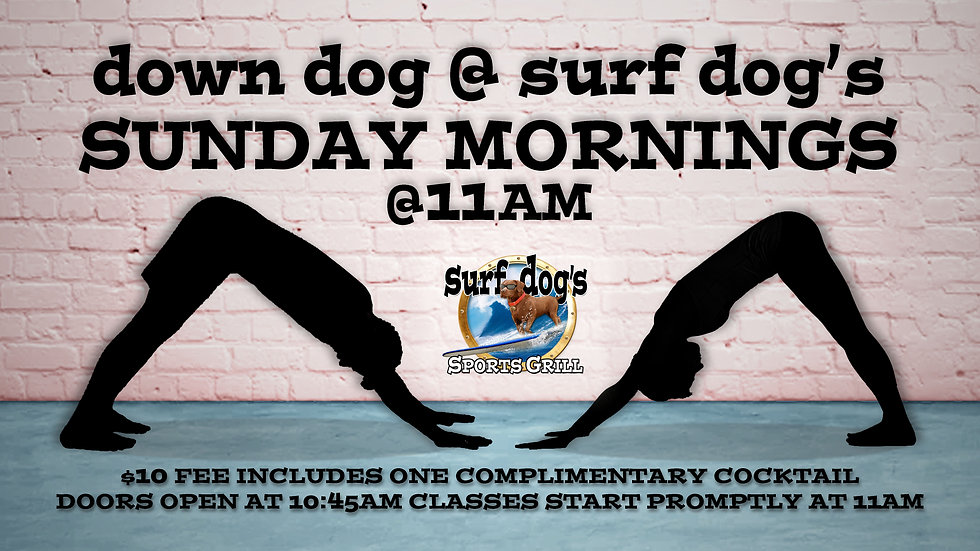 Down Dog @ Surf Dog's Sports Grill