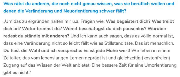 Interview Steffi Maaß Dajana Laube unkonventiolle Jobsuche