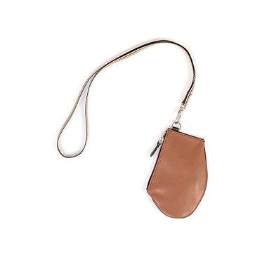Zip Micro - Tan Leather