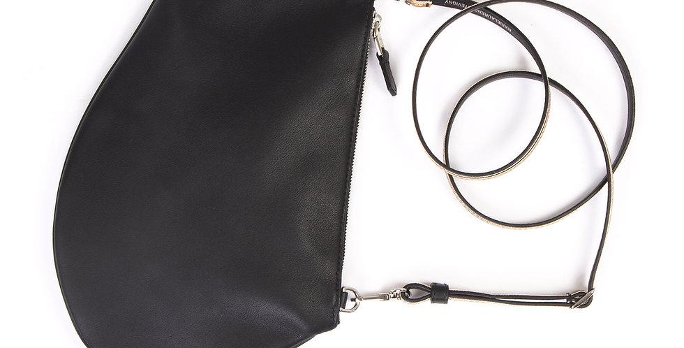 Pochette bandoulière - Zip Maxi - Cuir classique Skin