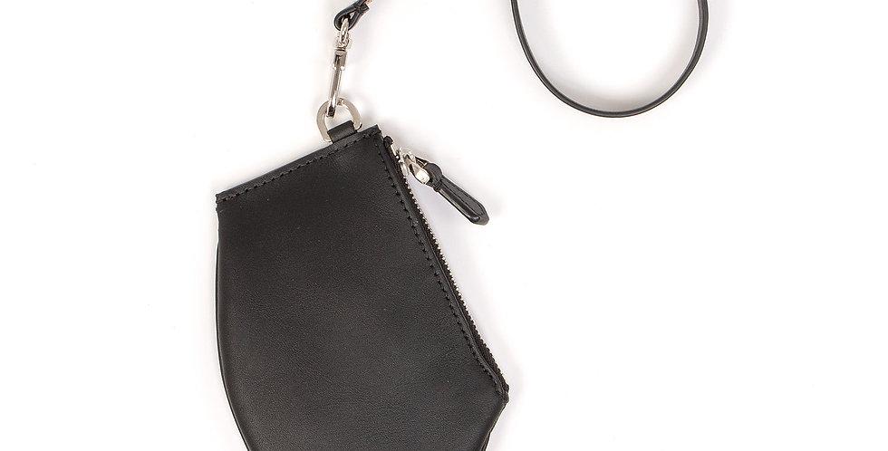 Petite pochette - Zip Micro -  Cuir classique Skin