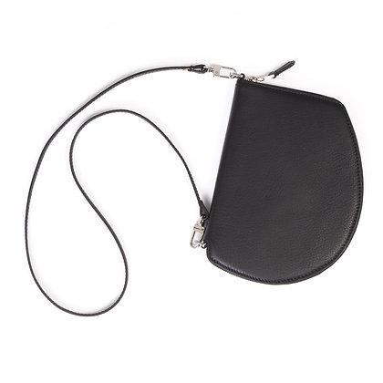 Pocket Maxi - Black Leather