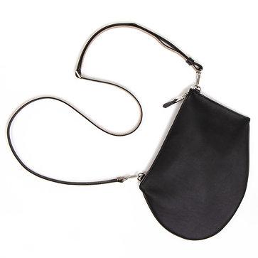 Zip Maxi - Black Leather