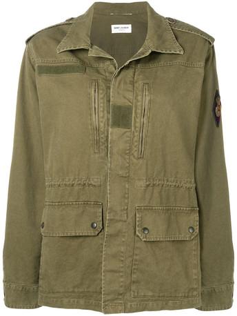 Yves Saint-Laurent's army jacket...