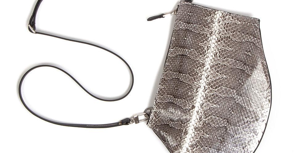 Crossbody pouch Zip Maxi - Snakeskin