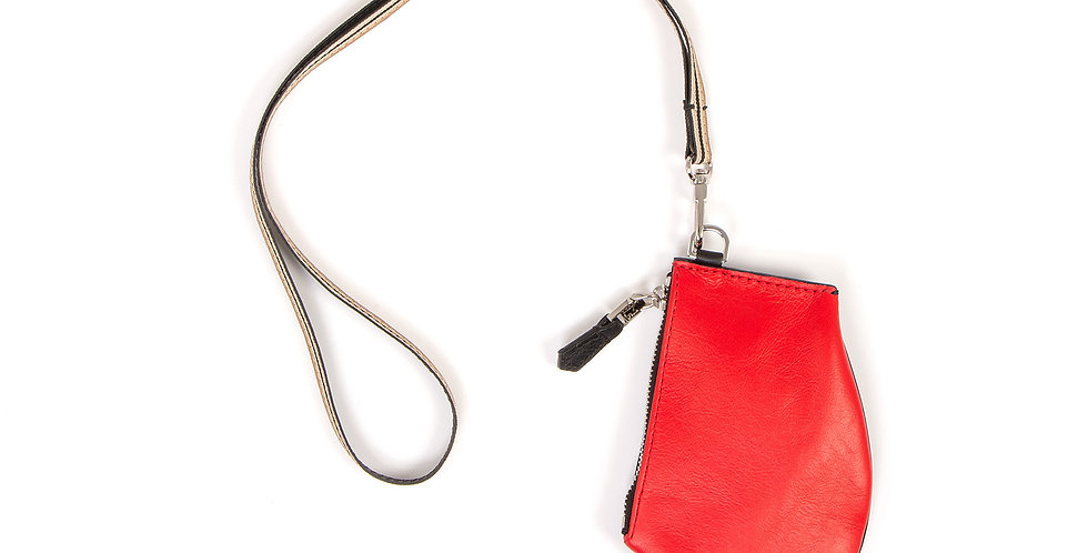 Small pouch - Zip Micro - Blood