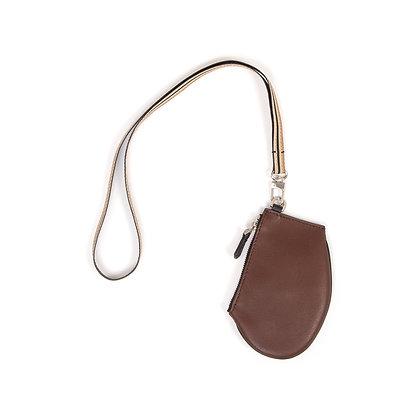 Zip Micro - Ebony Leather