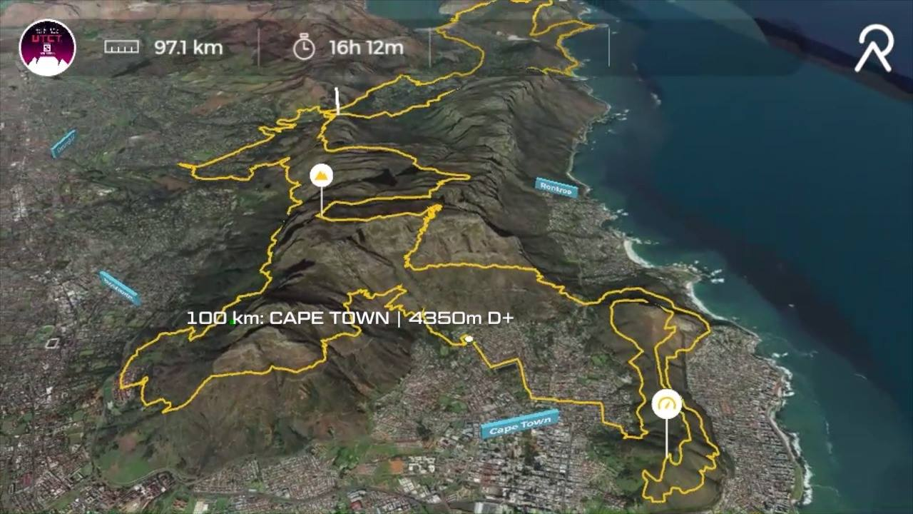 UTCT 100km Fly Through