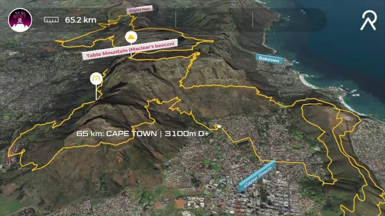 UTCT 65km Fly Through