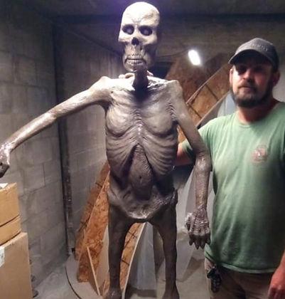 Corpse Zombie bare