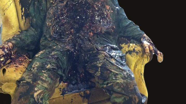 Exploder posed body victim