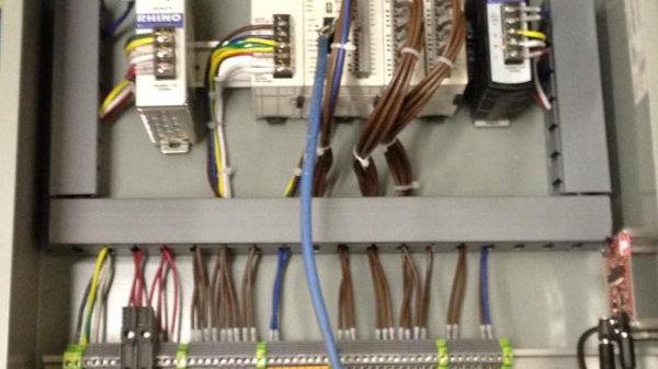 PLC control Panel options