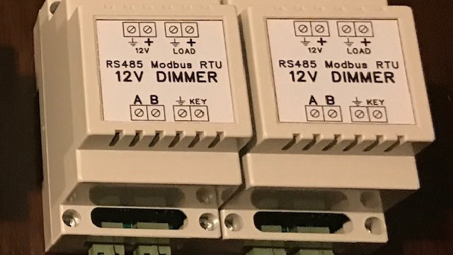 rs-485  controlled LED dimmer 12vdc