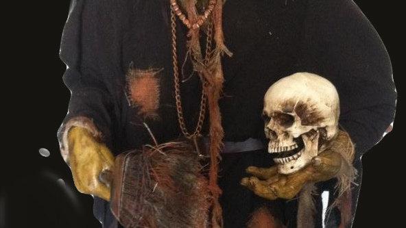 Witches Voodoo display