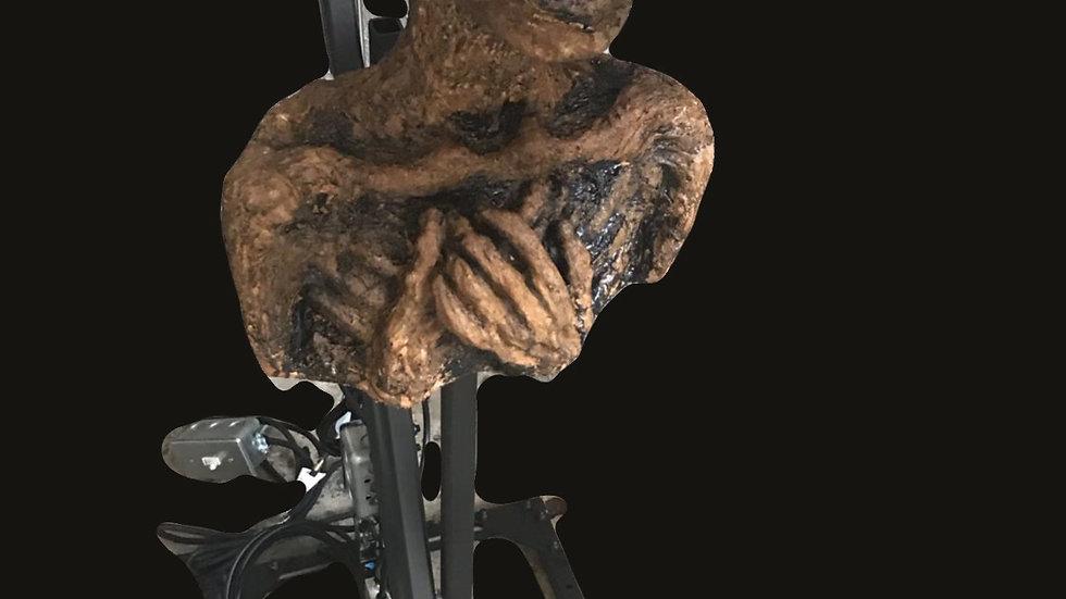 "Animatronic pop up rotten corpse 36"""