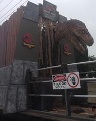 Animatronic T-Rex