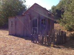 shack facade installtion