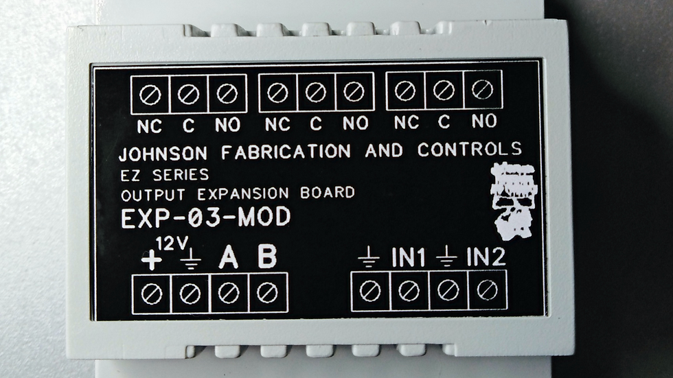 EZ - Series 3 channel output expansion module rs-485 controlled
