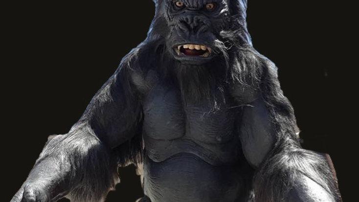 "90"" Kong Gorilla Static Prop"