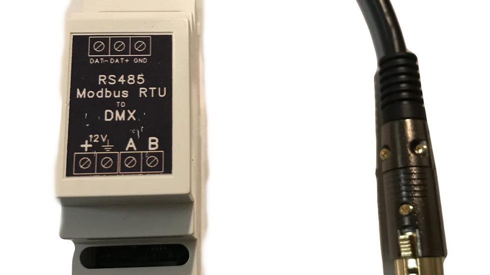DMX-512 controller / rs485