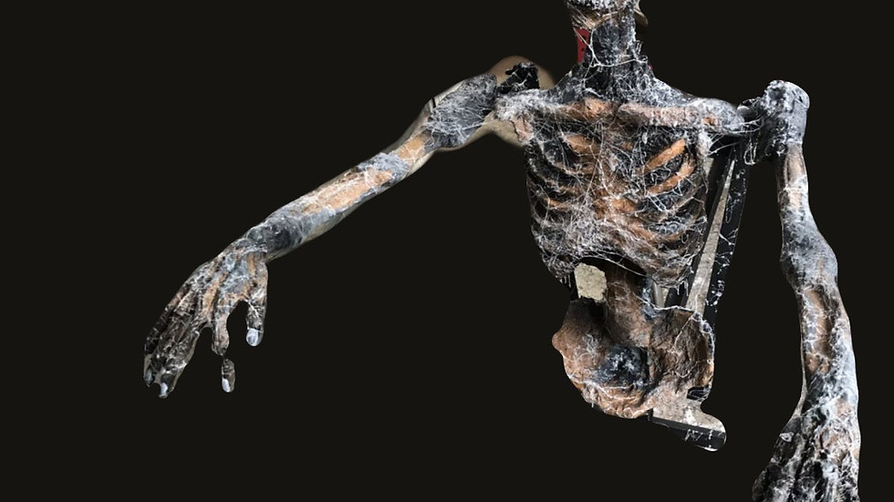 Animatronic grave hopper 02