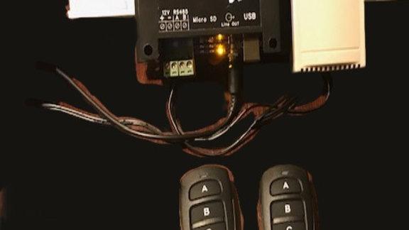 Wireless Button Programmable EZ-3 controller
