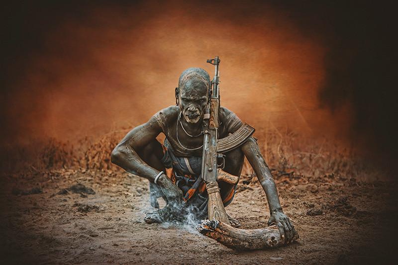 Warrior Mursi Warrior