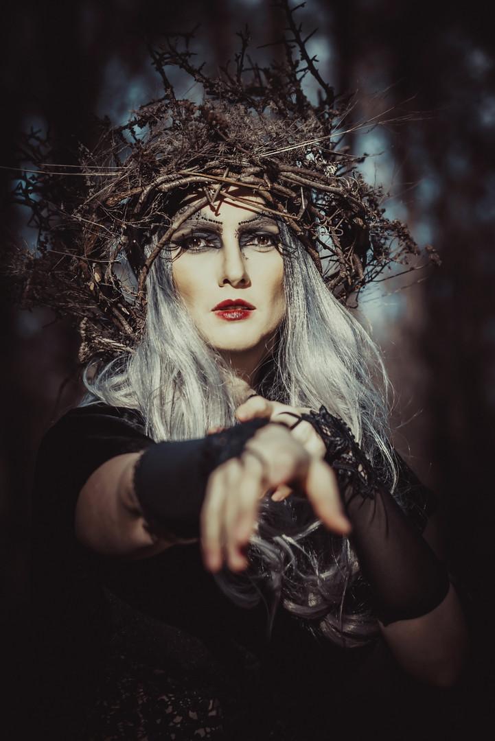 Alina Mitrea - Forest goddess, Romania
