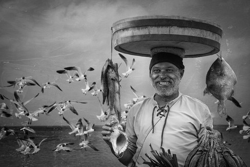 Silvija Treice - Happy Fisherman, Latvia